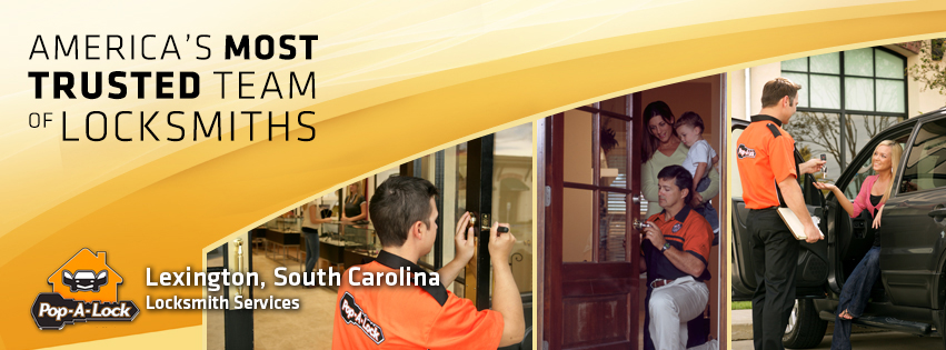 Lexington, SC Pop-A-Lock America's most trusted team of locksmiths